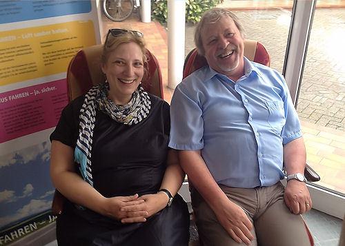 Dr. Daniela De Ridder und Dr. Bernhard Bendick Foto: © SPD