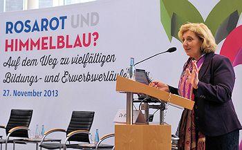 Dr. Daniela De Ridder bei der FES  Fotoquelle: © SPD