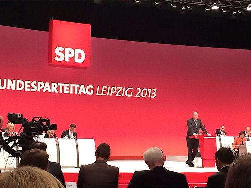 Bundesparteitag Leipzig 2013 Foto: © SPD