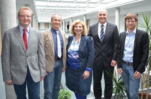 Daniela De Ridder besucht Campus Lingen