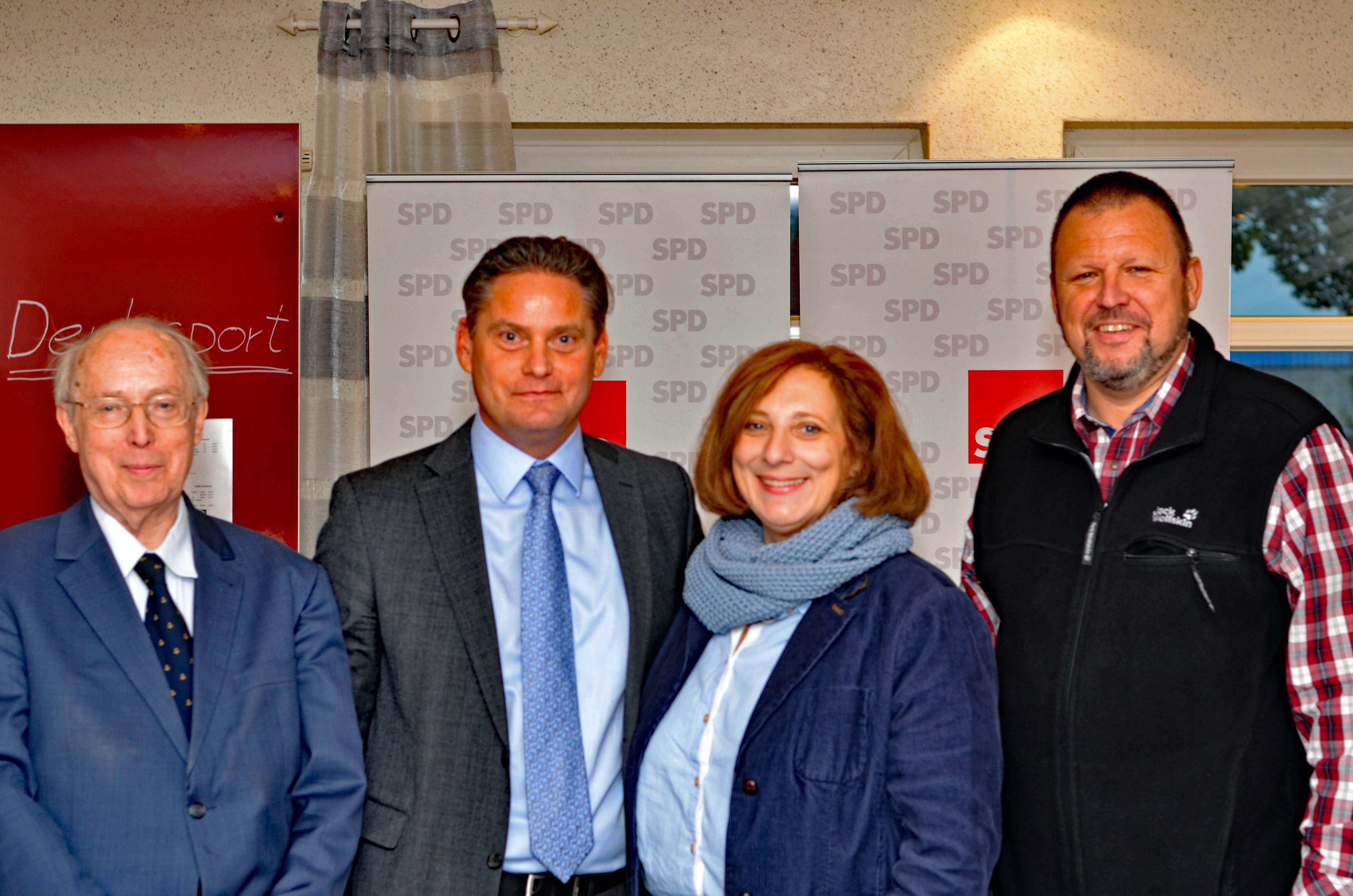 Dr. Klaus G. Röhl, Stefan Zierke, Dr. Daniela De Ridder, Johann Badenhorst