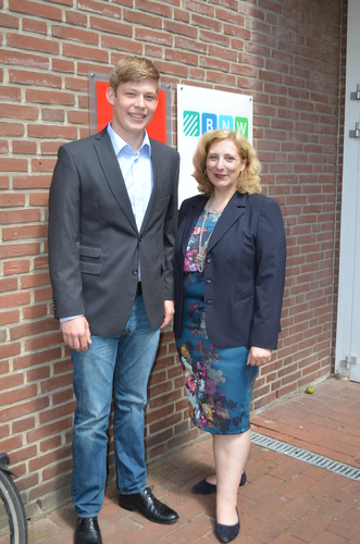 Dr. Daniela De Ridder und Derk Schoolkate in Nordhorn 2015