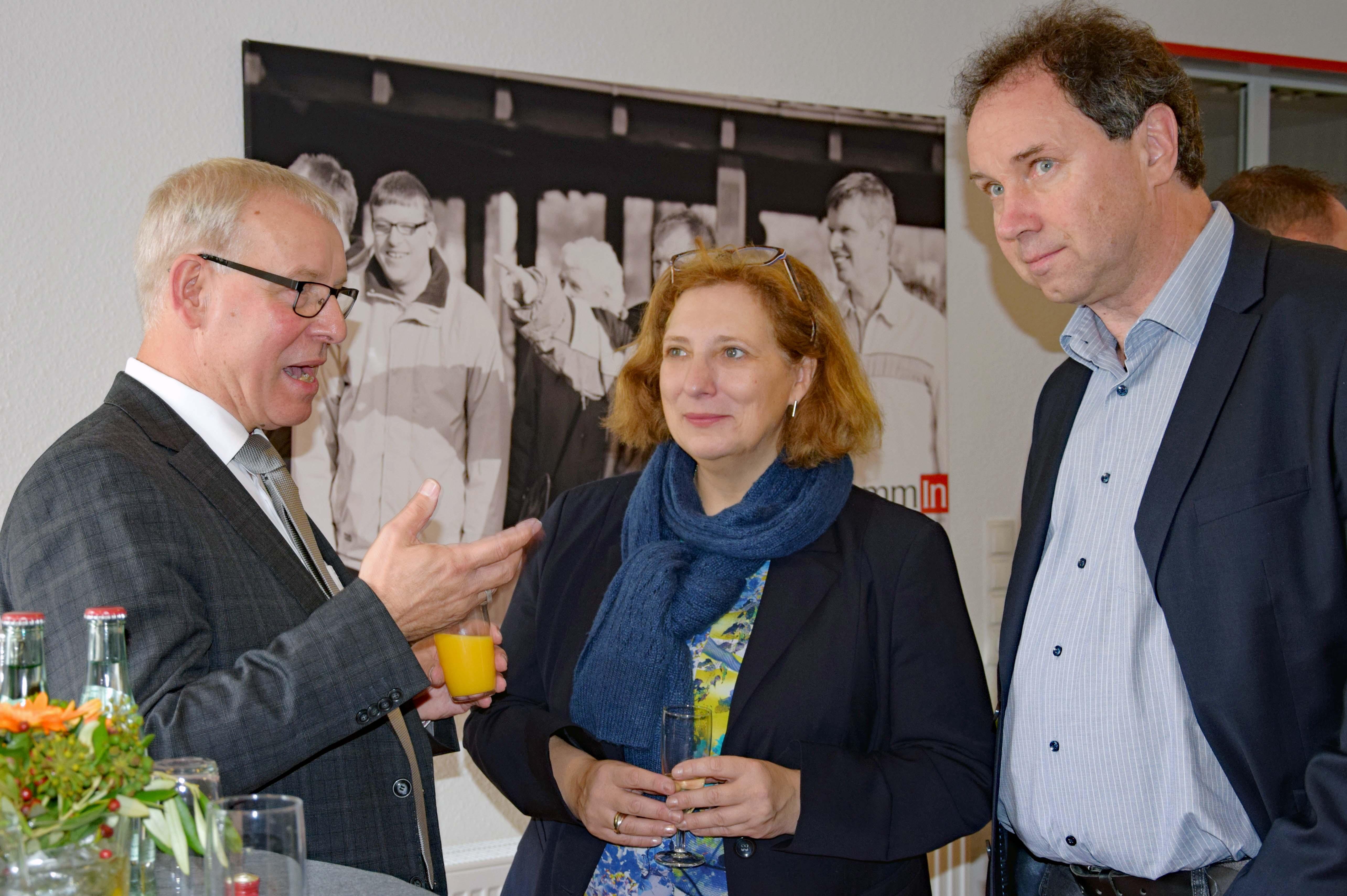 Arthur Lieske, Dr. Daniela De Ridder und Wolfram De Ridder