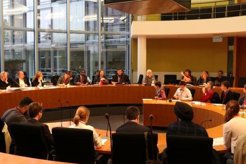 Die junge Generation beim Planspiel der SPD-Bundestagsfraktion (Foto: SPD-Bundestagsfraktion)