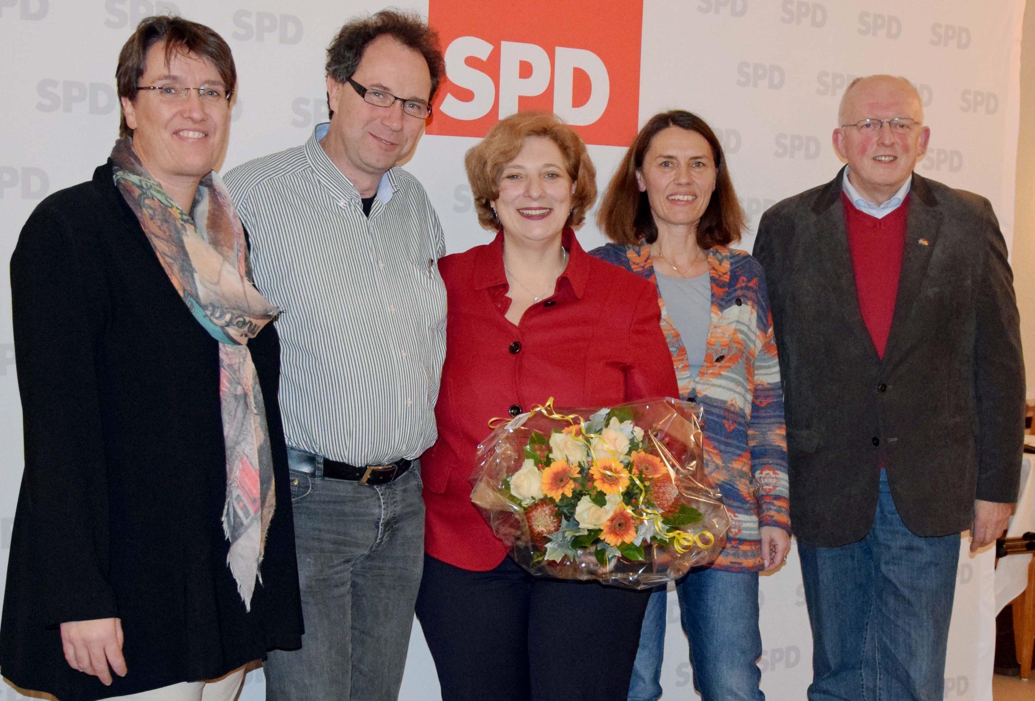 Silvia Pünt-Kohoff, Wolfram De Ridder, Dr. Daniela De Ridder, Andrea Kötter und Gerd Will (v.l.n.r.)