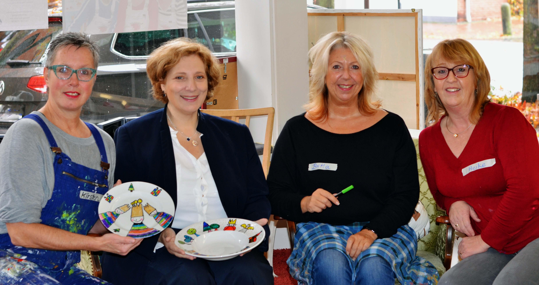 Kirsten de Boer, Dr. Daniela De Ridder, Britta Schneider-Alferink, Heike Hauch (v.l.n.r.)
