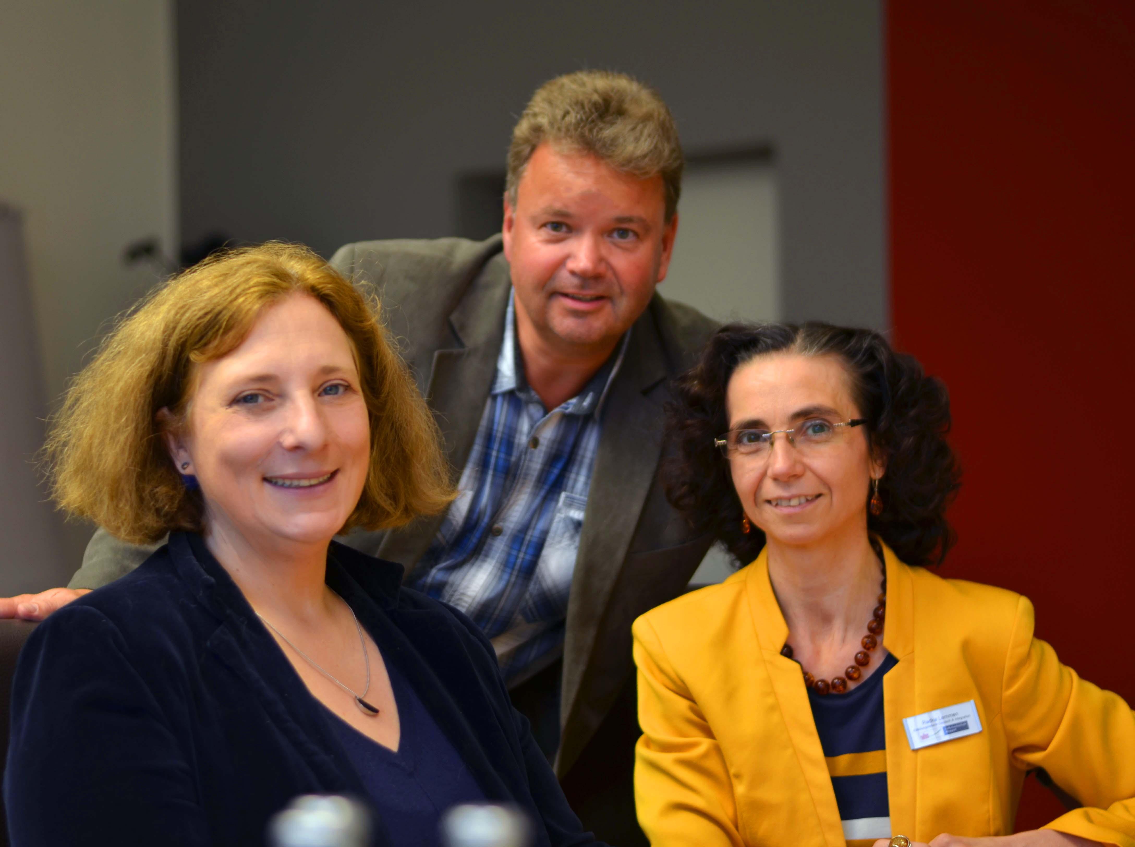 Dr. Daniela De Ridder, Matthias Walter, Radka Lemmen