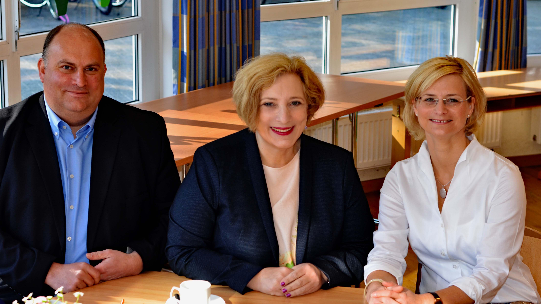 Christian Otten, Dr. Daniela De Ridder und Inga Meyer (v.l.n.r.)