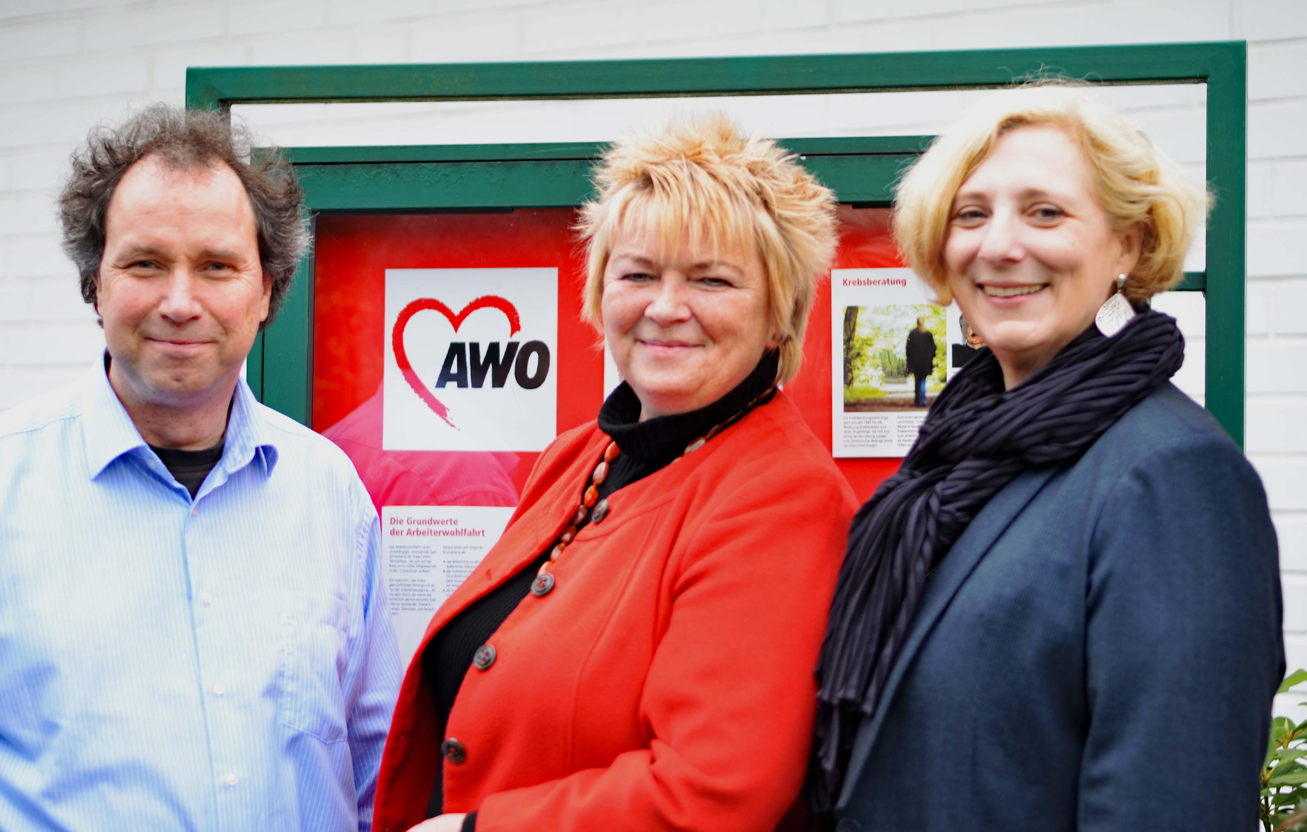 Wolfram De Ridder, Mechthild Rawert und Dr. Daniela De Ridder