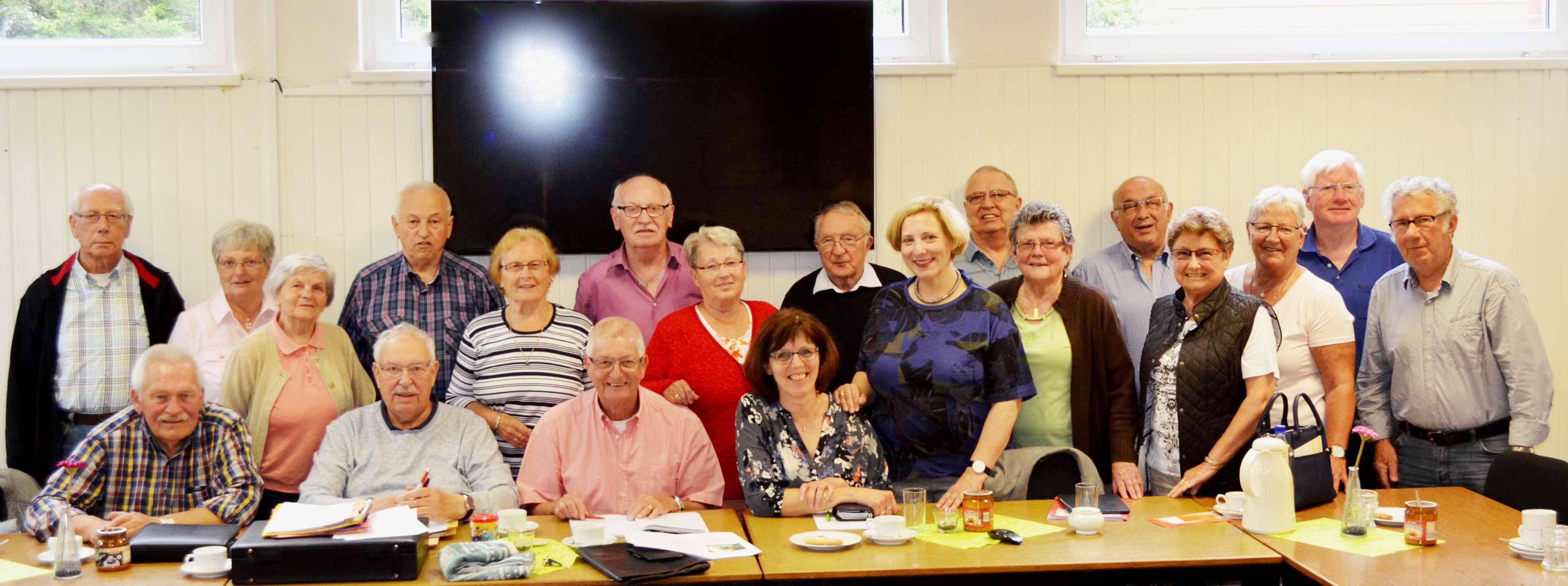 Dr. Daniela De Ridder und die Arbeitsgruppe 60 plus der Grafschafter SPD