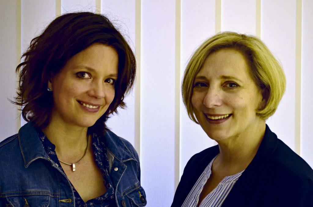 Julia Sigmund und Dr. Daniela De Ridder