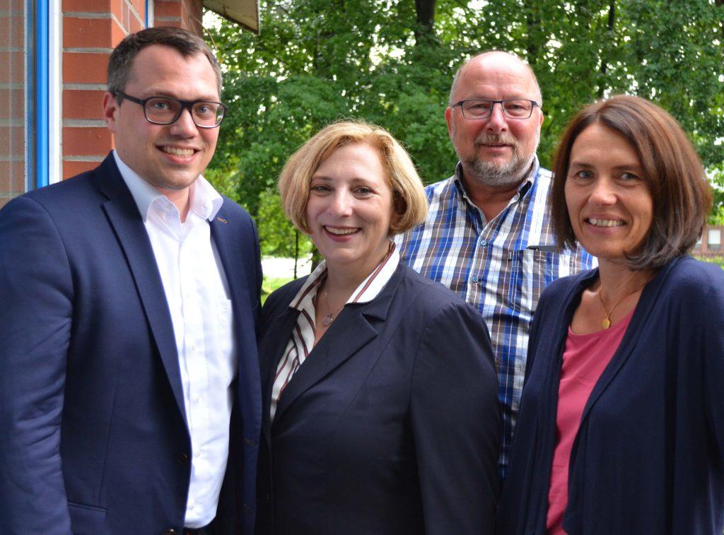 Tiemo Woelken, Dr. Daniela De Ridder, Johannes Hessel, Andrea Kötter
