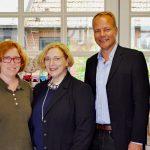 Imke Erdtmann, Dr. Daniela De Ridder und Dr. Matthias Miersch (v.l.n.r.)