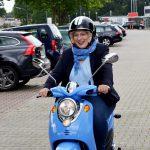 Die Fahrt mit dem E-Roller_Dr. Daniela De Ridder