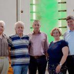 Franz Günnemann, Bernhard Baalmann, Dr. Daniela De Ridder, Thorsten Staubermann und Klaus Wessling
