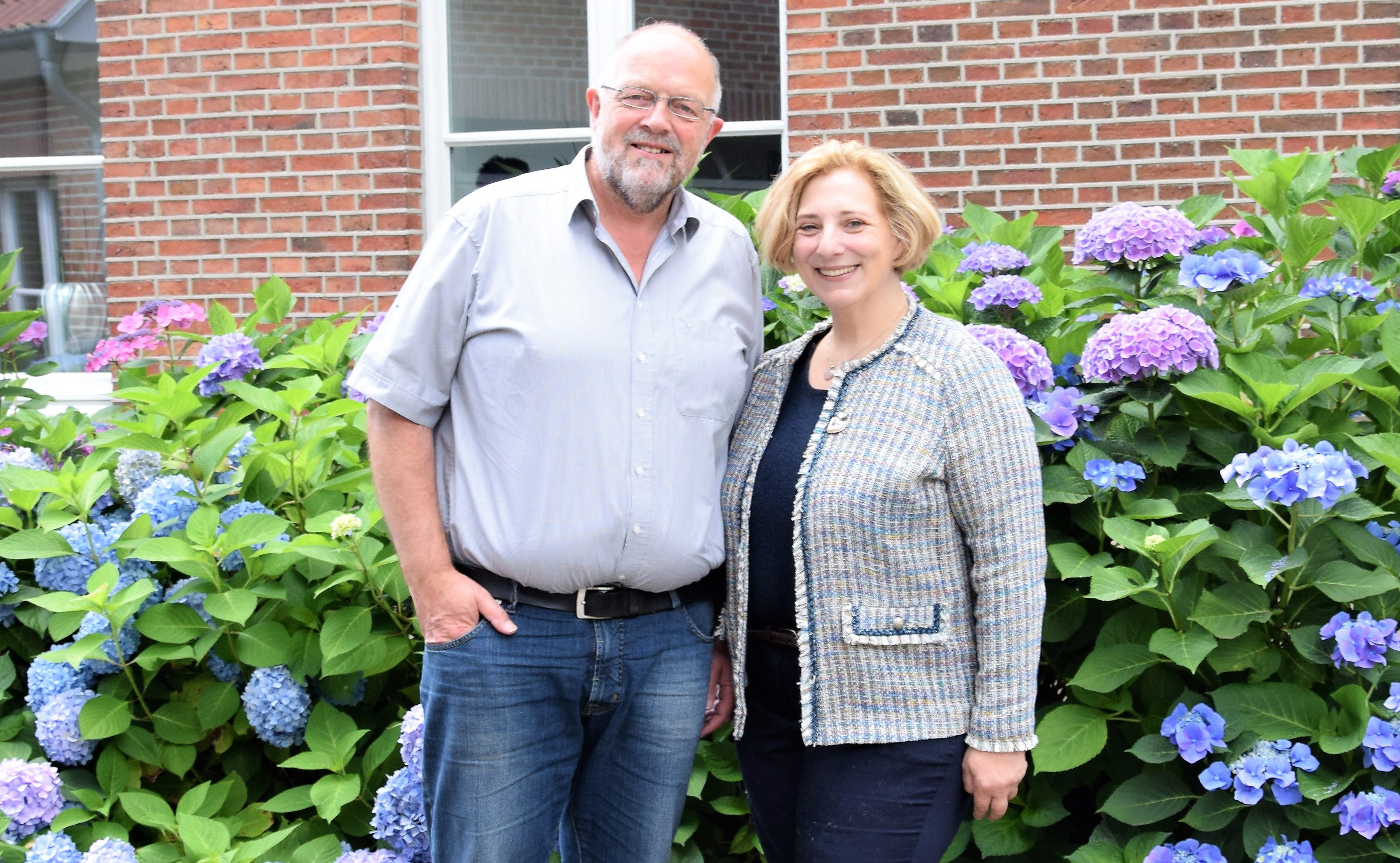 Heiko Brüning und Dr. Daniela De Ridder