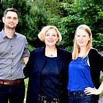 Matthias Wilmes, Dr. Daniela De Ridder und Ines Feismann