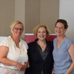 Nicole Schots, Dr. Daniela De Ridder und Barbara Kinser I