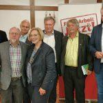 Die Teilnehmer*innen der Podiumsdiskussion (Foto: Eike Barlage)