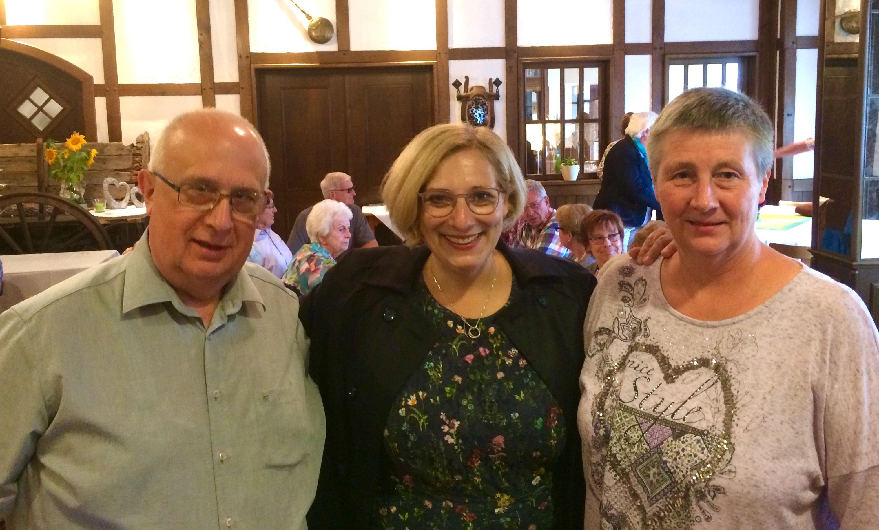 Reinhold Hoffmann, Dr. Daniela De Ridder und Ulla Ahrend