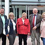 Thomas Berling, Alide Broenink, Cornelia Rundt, Gerd Will und Dr. Daniela De Ridder