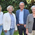 Besuch Beratungsstelle Hobbit_FB_v.l.n.r. Jenny Verwolt, Dr. Daniela De Ridder, Klaus ter Horst, Helga van Slooten_
