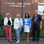 Dagmar Berning, Dr. Daniela De Ridder, Gisela Brandt-Lattka  und Gert Soermann (v.l.n.r.)