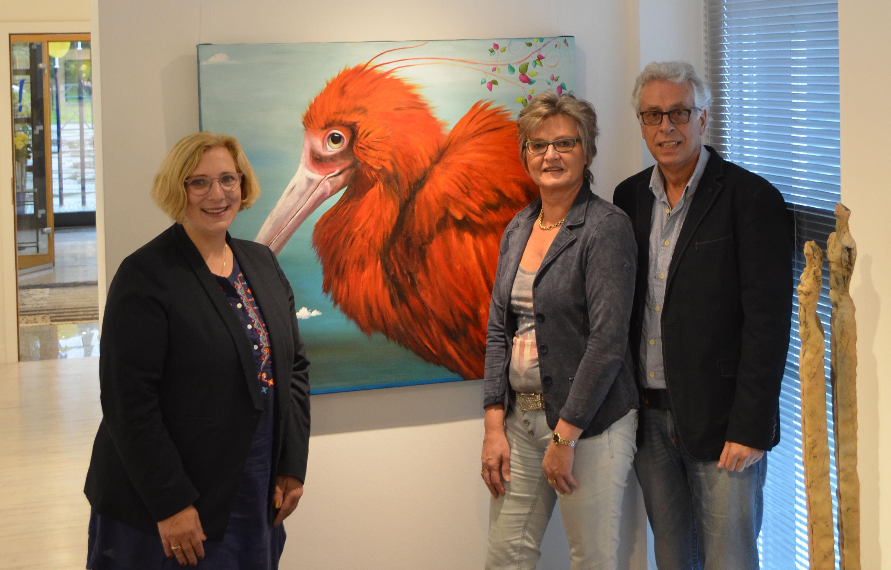 Dr. Daniela De Ridder, Hannelore de Hoogd und Peter de Hoogd (v.l.n.r.)
