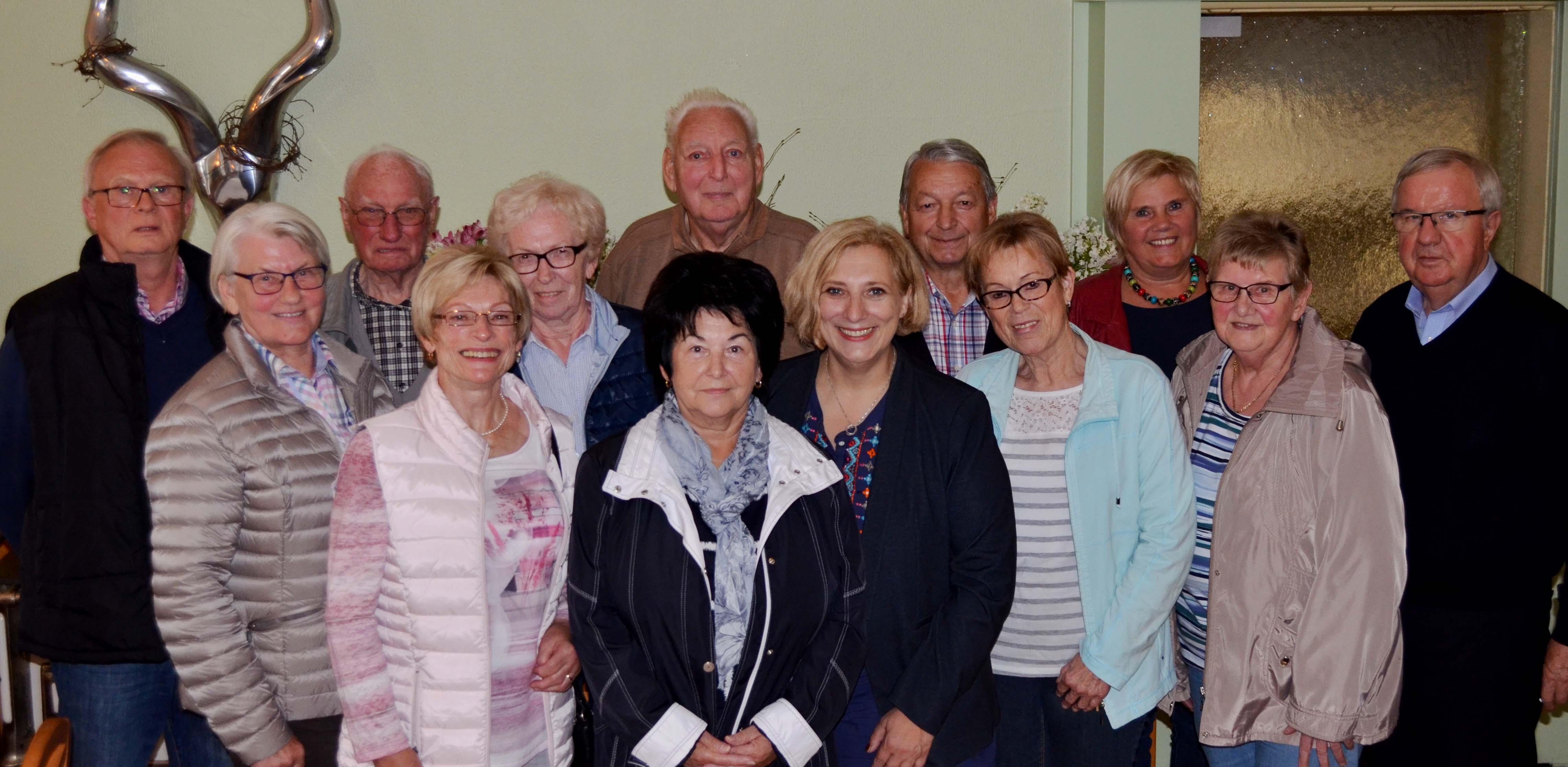 Dr. Daniela De Ridder bei der Seniorenvereinigung in Meppen
