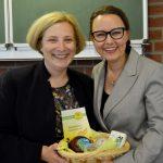 Dr. Daniela De Ridder und Michelle Müntefering