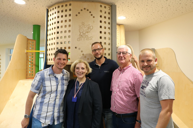 Malte Bühner, Dr. Daniela De Ridder, Oliver Landwehr, Hermann Nüsse und Christian Kerperin