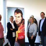 Manfred Herbers, Silke Kamps, Dr. Daniela De Ridder und Wolfram De Ridder