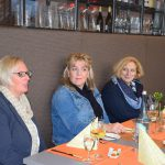 Nicole Schots, Geschäftsführerin Grafschafter Landservice, Kornelia Morshuis vom SPD-Ortsverein Nordhorn und Dr. Daniela De Ridder