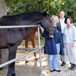 Pferd Santos, Dr. Daniela De Ridder, Michael Henkel, Brigitte Gebert