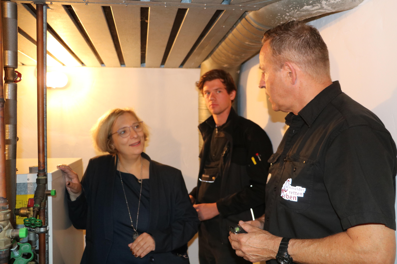 Dr. Daniela De Ridder, Steffen Schotte und Rolf Thelen (v.l.n.r.)