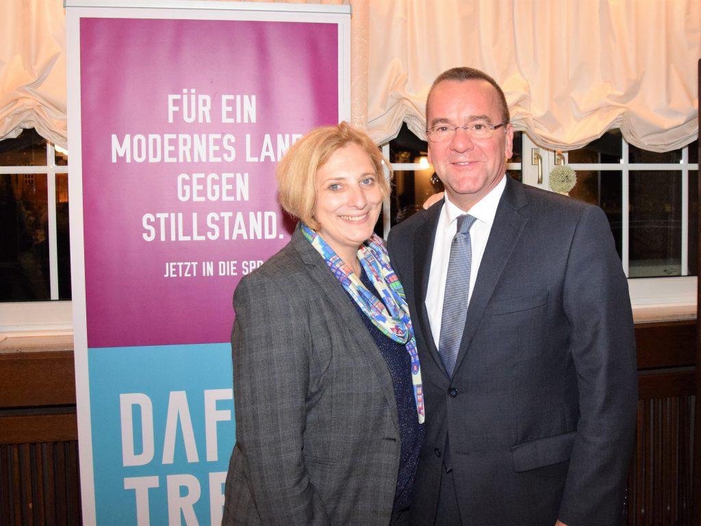 Dr. Daniela De Ridder und Boris Pistorius