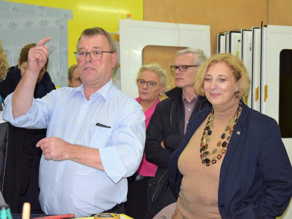 WAS Geschäftsführer Dr. Andreas Plöger und SPD-Bundestagsabgeordnete  Dr. Daniela De Ridder