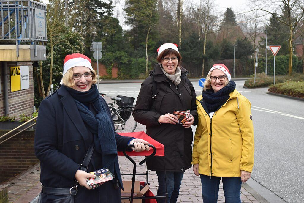 Dr. Daniela De Ridder, Petra Alferink und Alide Broenink