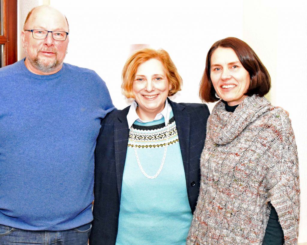 Johannes Hessel, Dr. Daniela De Ridder und Andrea Kötter
