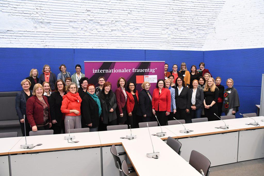 Frauenpolitsches Frühstück der SPD-Bundestagsfraktion