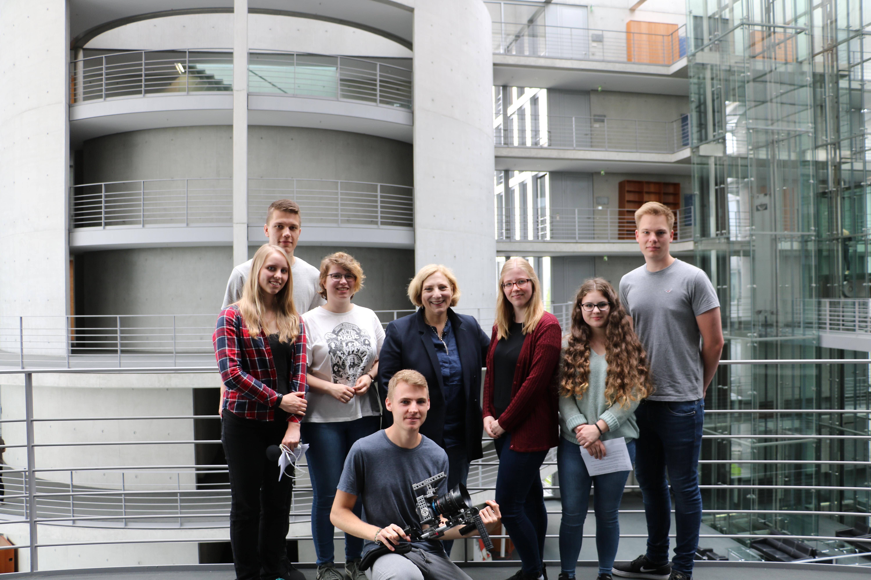 Dr. Daniela De Ridder und das Team der BBS Papenburg