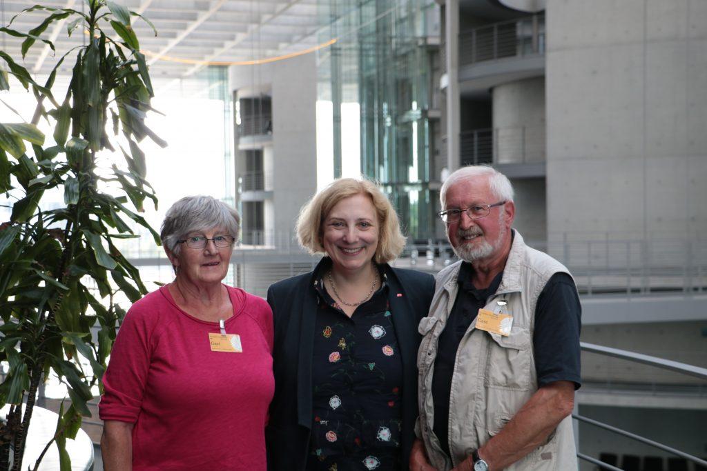 Gertrud Rötterink, Dr. Daniela De Ridder und Albert Rötterink