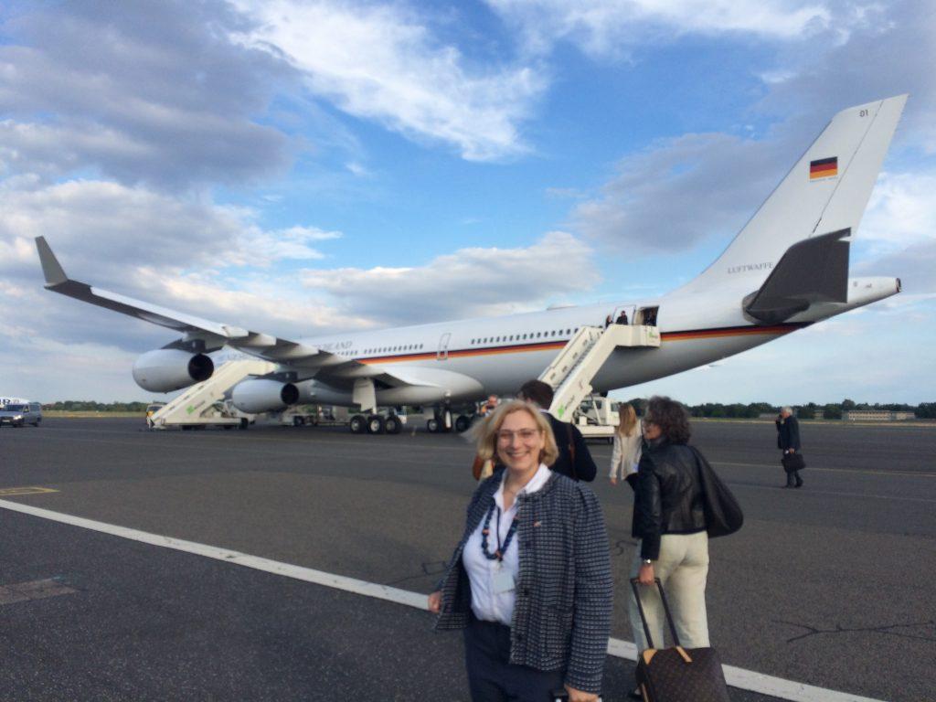 Dr. Daniela De Ridder auf dem Weg in die USA