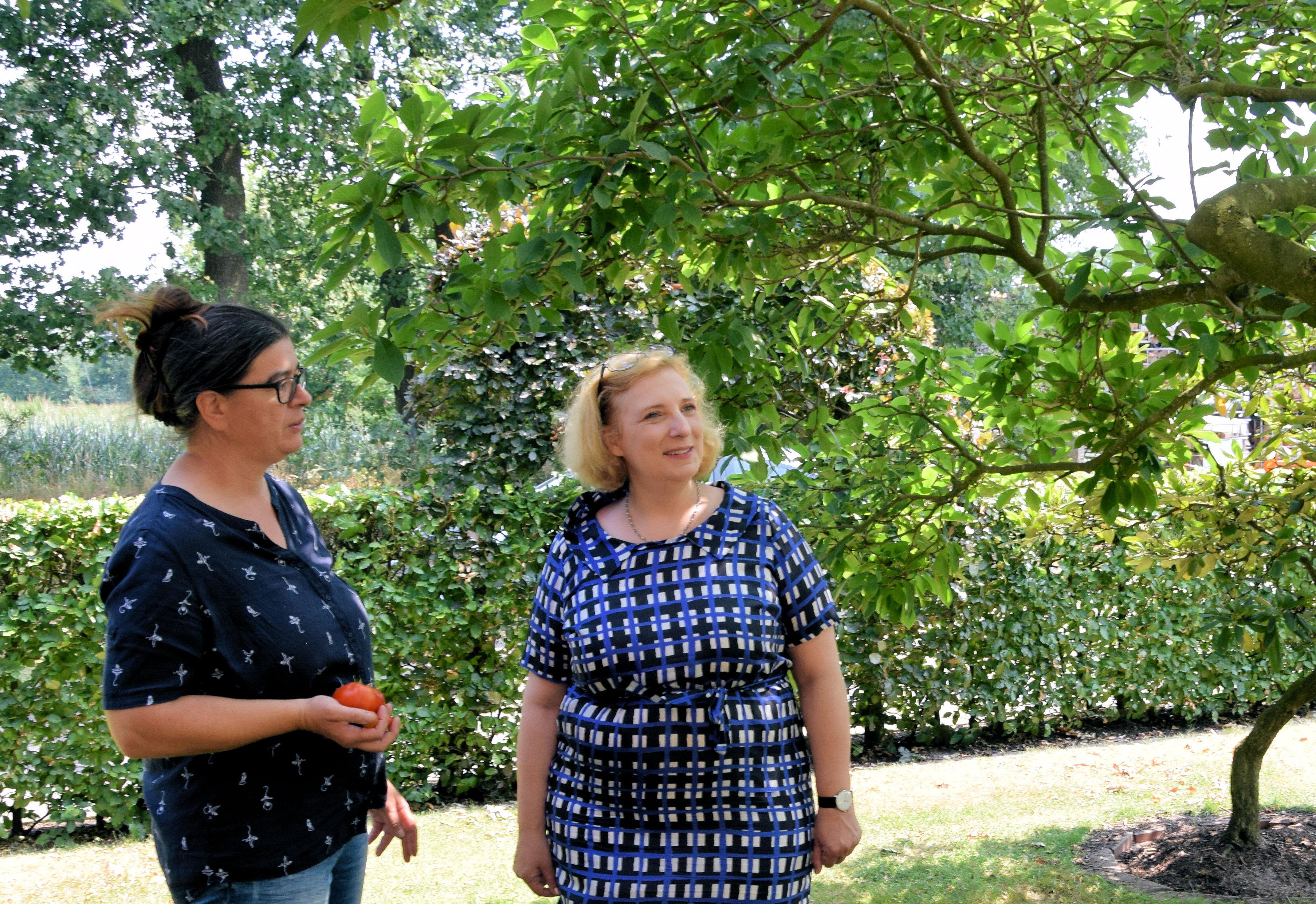 Manuela Schohaus und Dr. Daniela De Ridder