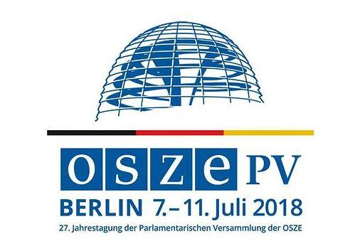 Die 27. Jahrestagung der OSZE fand im Deutschen Bundestag statt