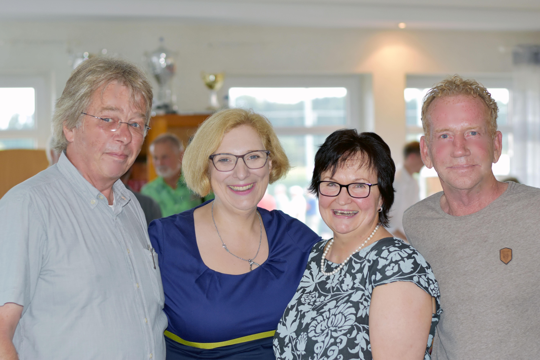 Charly Hengevoss, Dr. Daniela De Ridder, Susanne Jansen und  Siegfried (Siggi) Gebbeken
