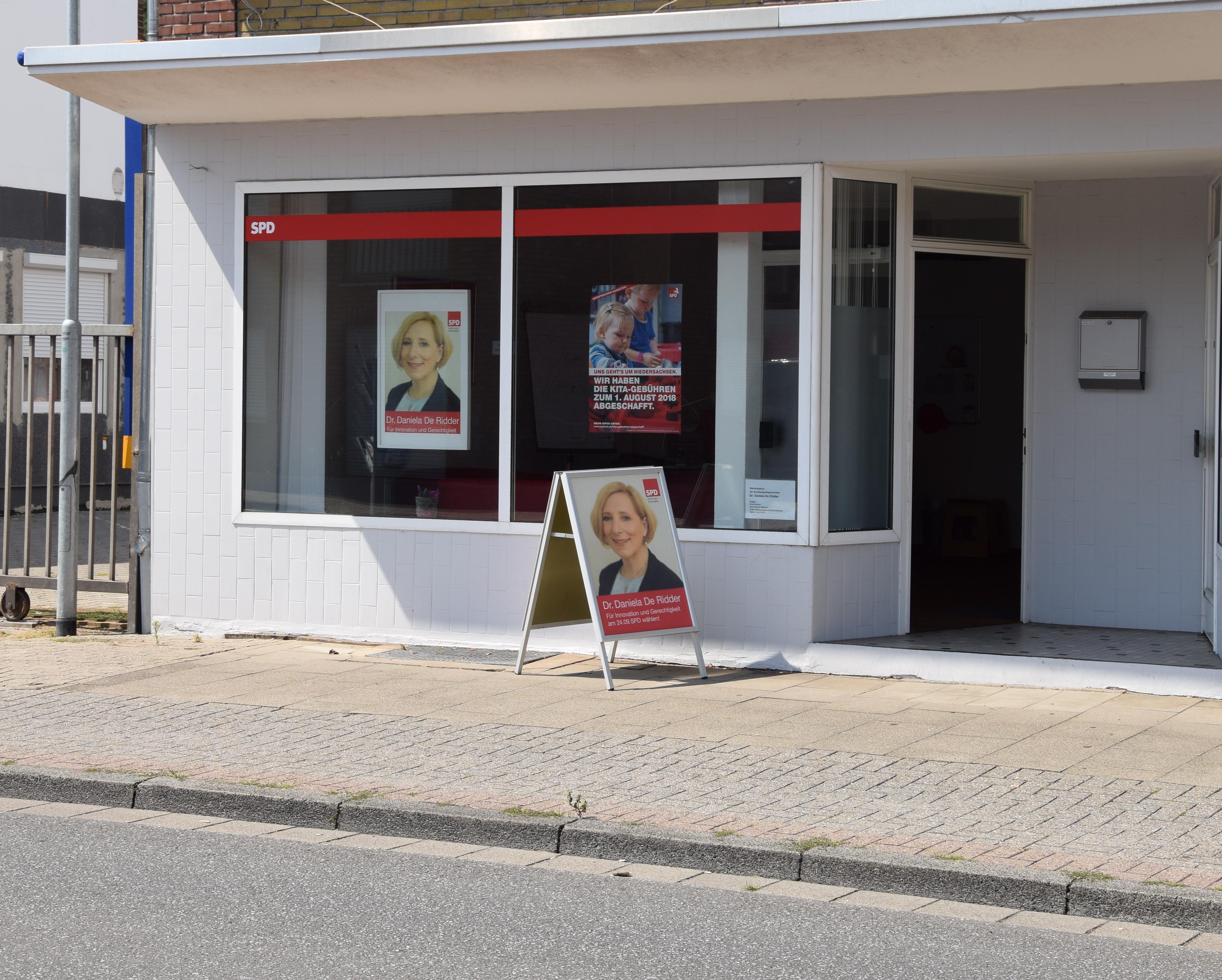 Das Bürgerbüro von Dr. Daniela De Ridder am Gildehauser Weg 42 in Nordhorn