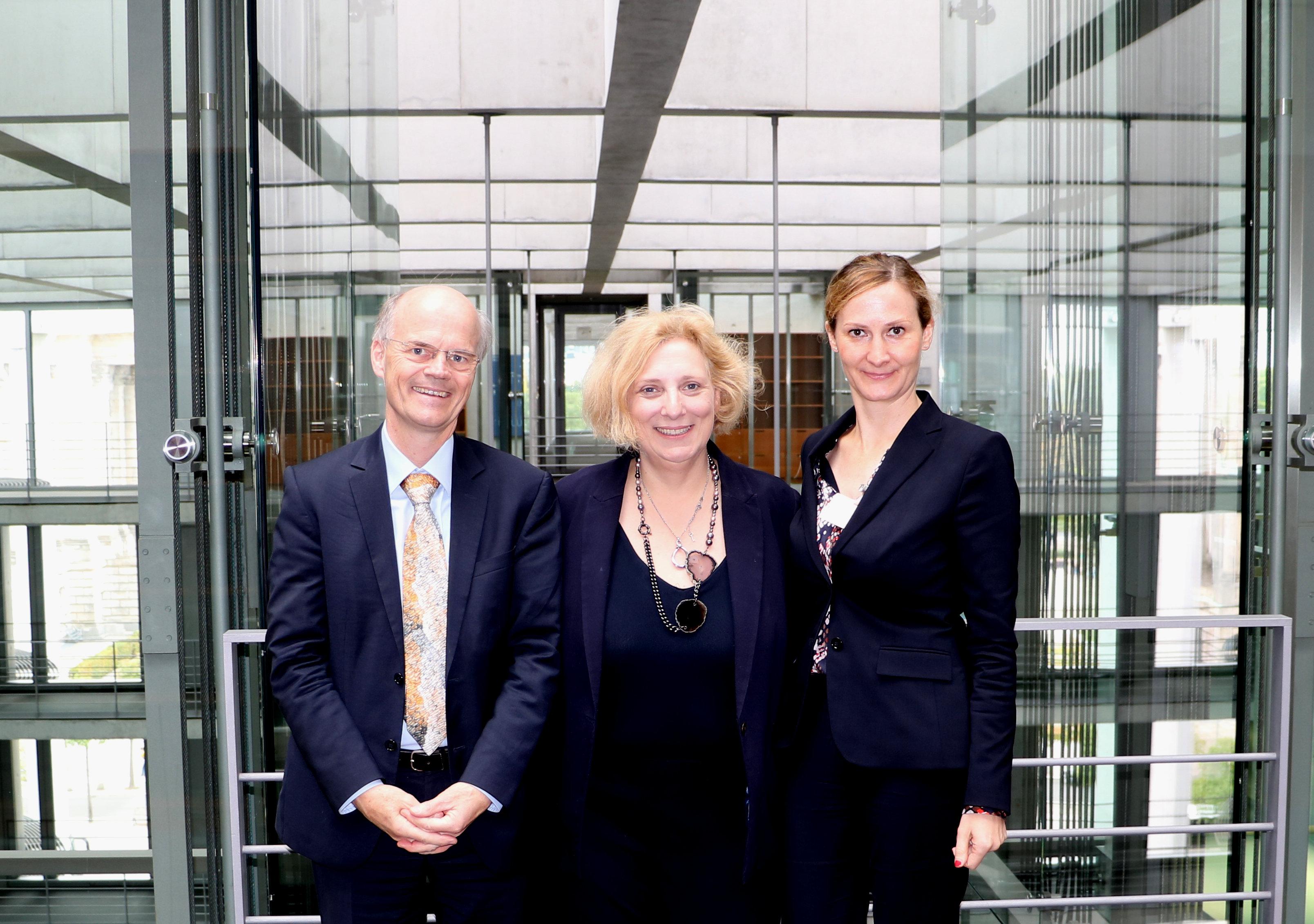Dr. Enno Aufderheide, Dr. Daniela De Ridder und Dr. Judith Wellen