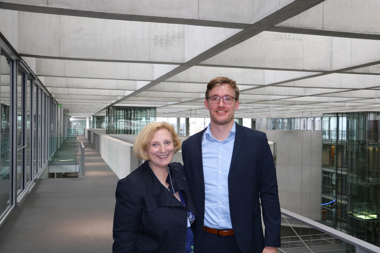 Dr. Daniela De Ridder und Jens Stappenbeck