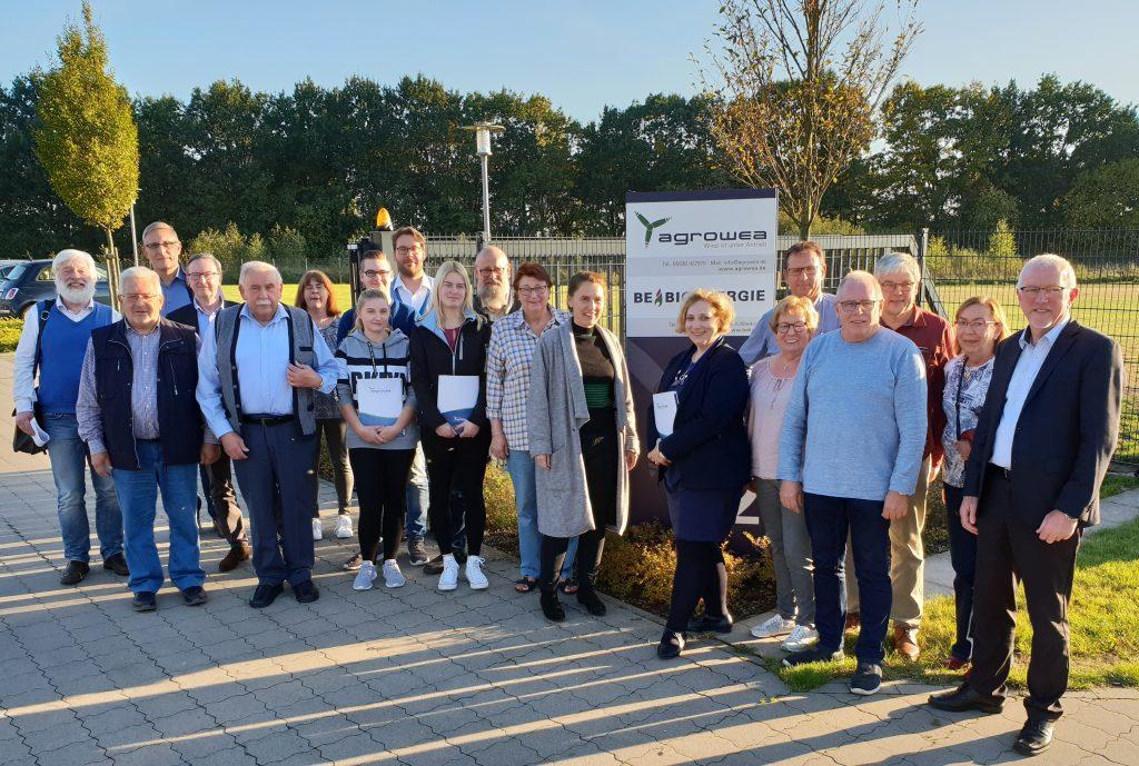 Dr. Daniela De Ridder zu Besuch bei Agrowea GmbH in Twist